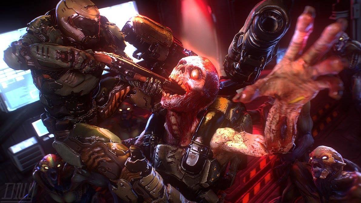 Doom, Feeding the The Revenant Doom demons, Doom game, Memes
