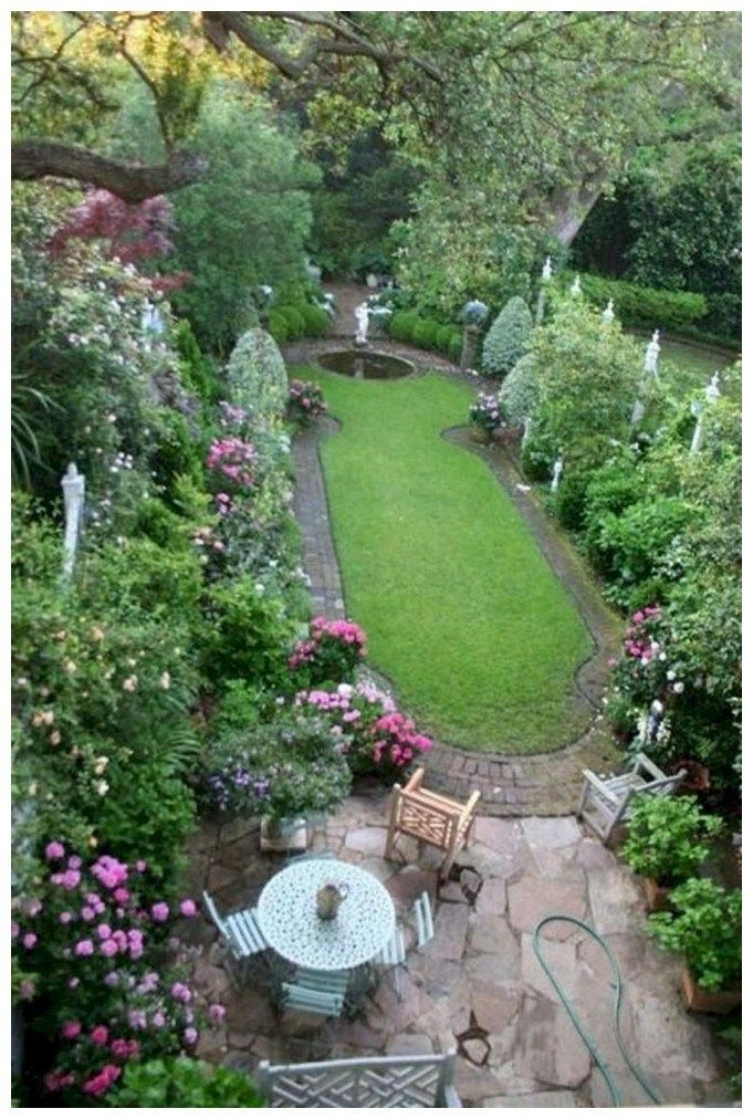 55 beautiful small cottage garden ideas for backyard ...