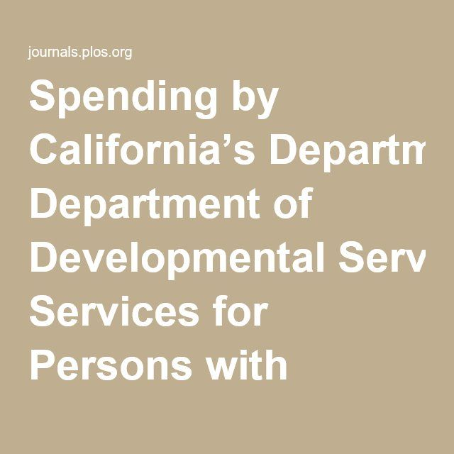 A number-crunching study broke down the non-medical autism-related spending by the California Department of Developmental Services during 2012-2013. The study found that an average of over $26,000 was spent on each person over 18 years of age. The expenses often included community care facilities, transportation, and employment support.