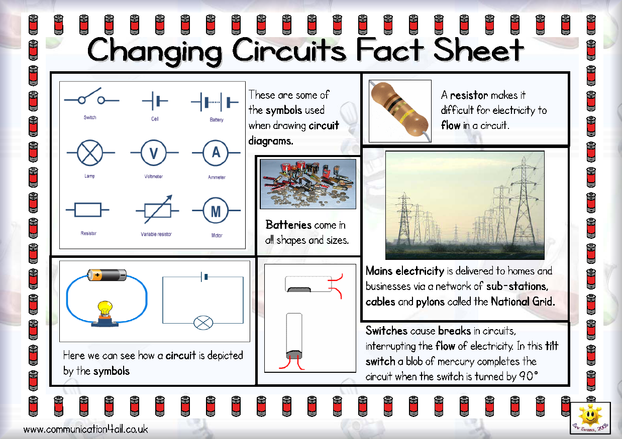 Here S A Simple Fact Sheet On Changing Circuits Includes