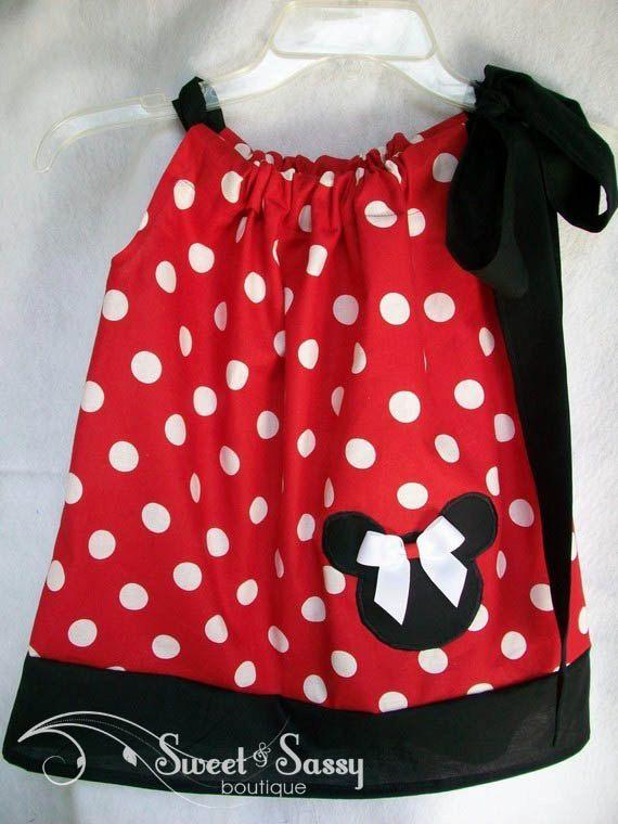 minnie mouse pillowcase dress | pretty little clothes | Pinterest ...
