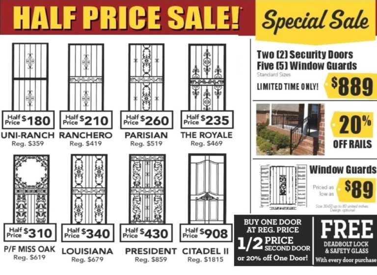 Classic Iron Works With Images Grill Design Iron Security Door
