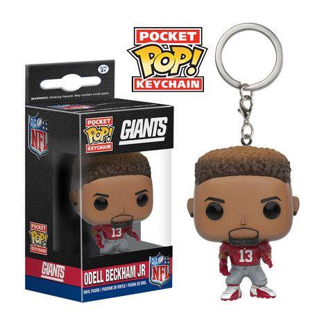 Pocket Pop Keychain Nfl Odell Beckham Jr Funko Pocket