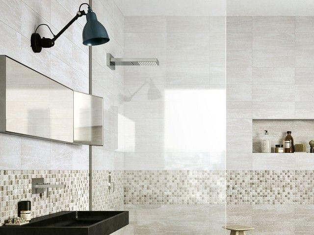 Rivestimento bagno effetto marmo tivoli iperceramica gres porcellanato pinterest condos - Rivestimento bagno effetto marmo ...