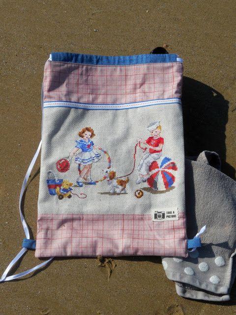 Bear, Dolly and Moi: a new beach bag