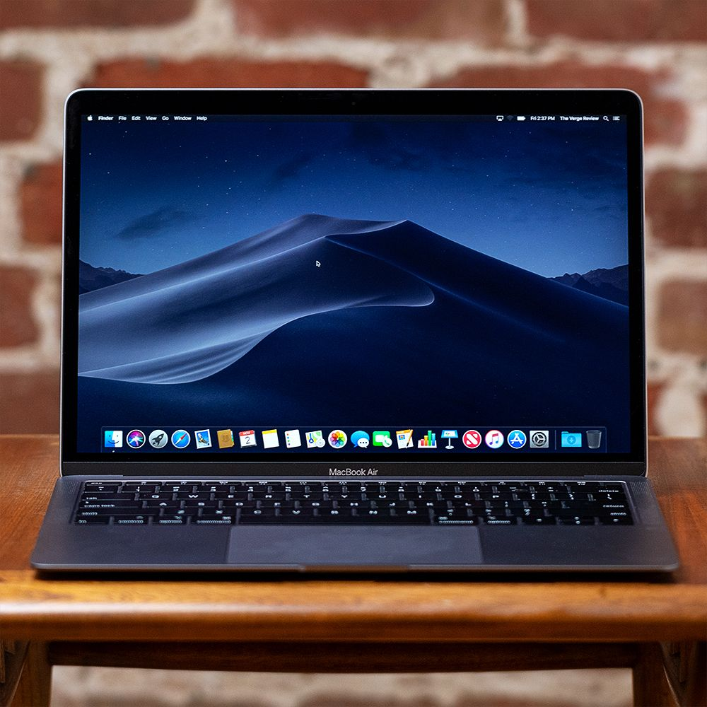 Macbook Air 2018 Review Retina Display Great New Trackpad Touch Id And A Modest Speed Bump Make It A Nice Upg Apple Macbook Air Macbook Air Apple Macbook