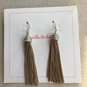 "I just added this to my closet on Poshmark: Shelby Fringe Earrings. Price: $24 Size: 2"" drop length"