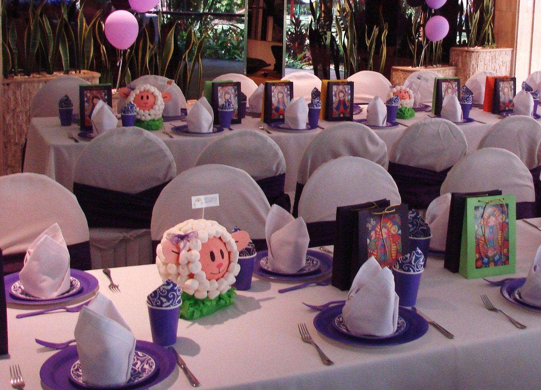 Decorar mesa para primera comuni n decorar tu casa es for Fiestas comunion decoracion