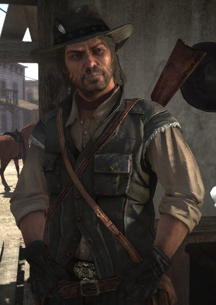 Rdr John Marston Red Dead Redemption 1 Red Dead