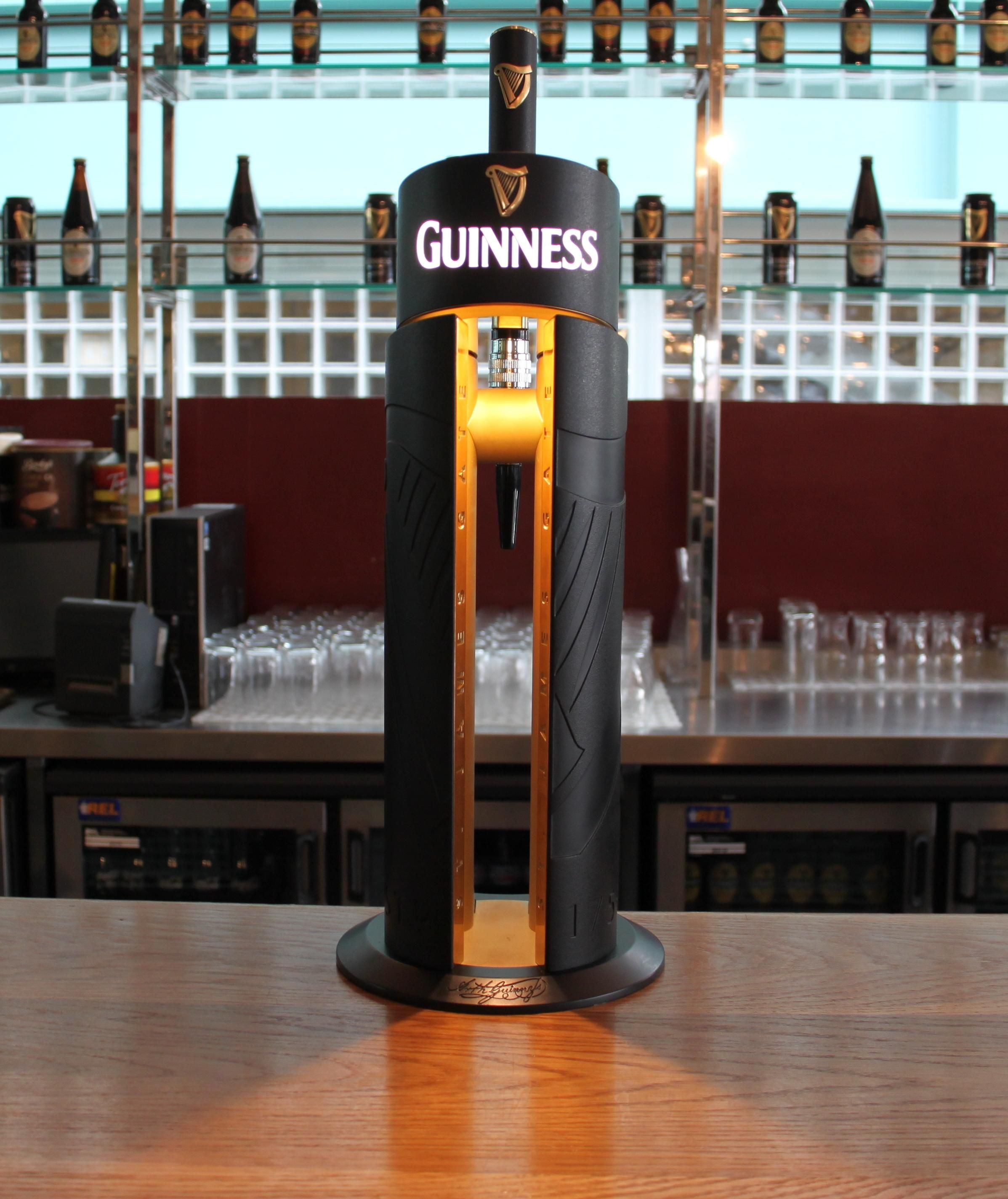 Guinness Beer Fount. St. James Gate. | bars | Pinterest