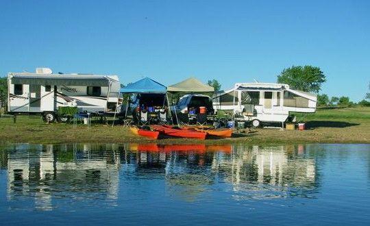 Beautiful Spot For Camping And Kayaking At Eagle Nest Lake