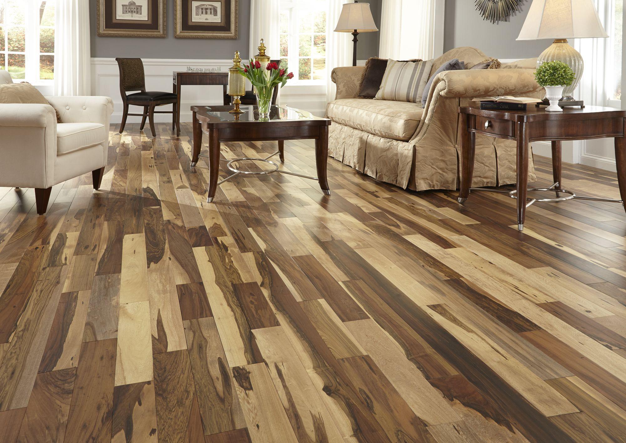Bellawood Matte Brazilian Pecan Natural Flooring 3 4 X 4