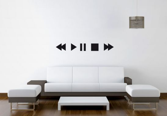 wall stickers - play wall sticker | diy office