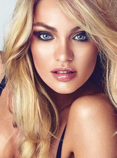 see my VS angel eye makeup tutorial to see how to get this look.