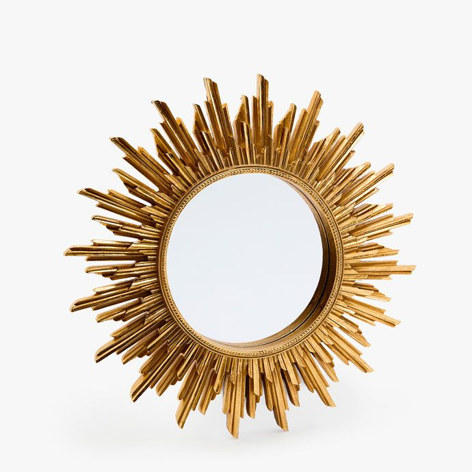 SUN-SHAPED MIRROR - | Zara Home Hungary | Kozraktar | Sun ...