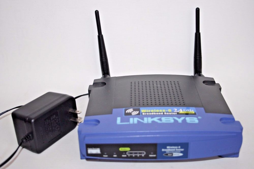 Linksys WRT54G 54 Mbps 10/100 Wireless G Router ( US