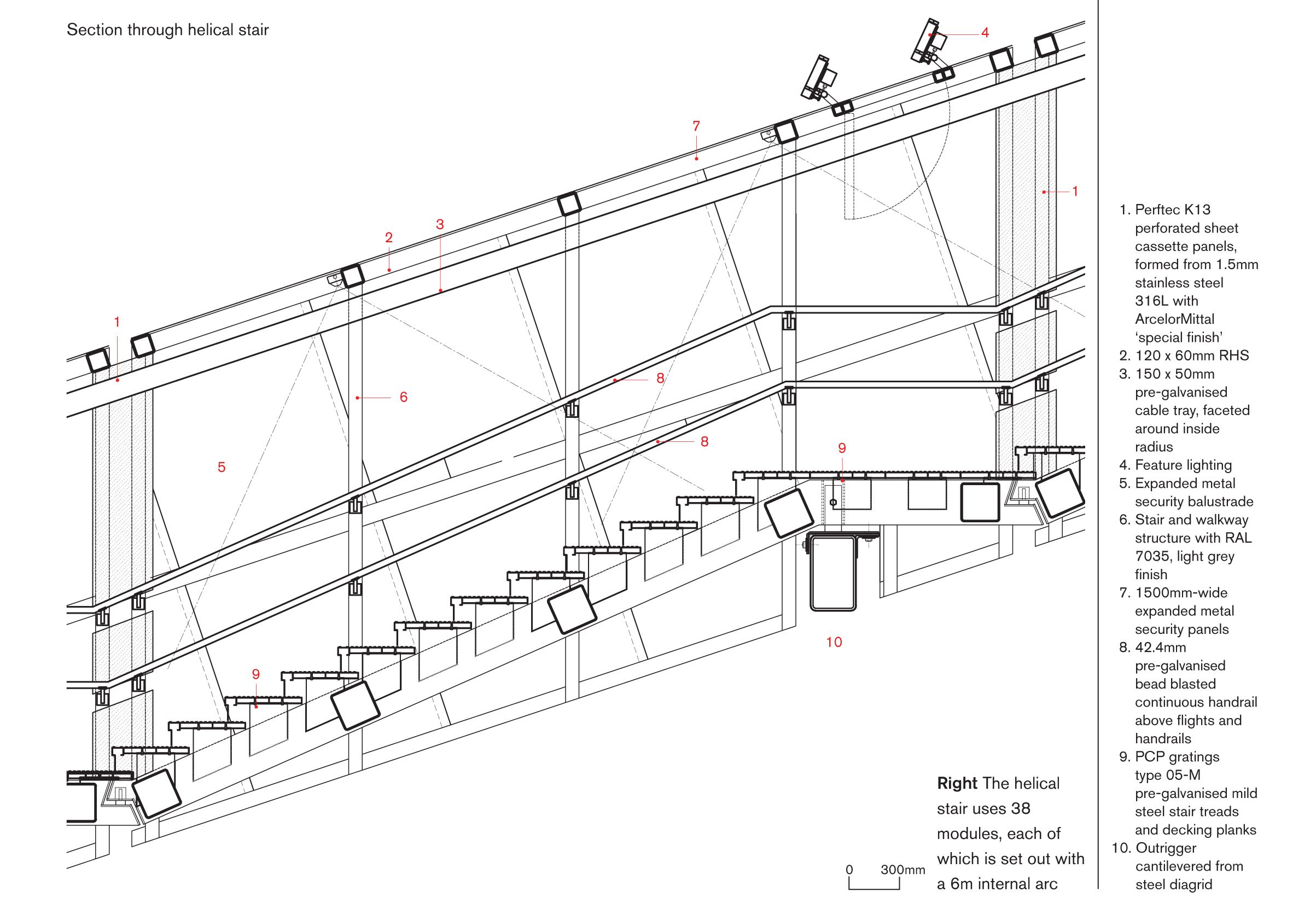hight resolution of steel stair section google search