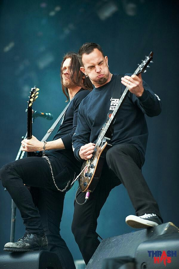 The awesome Alter Bridge.