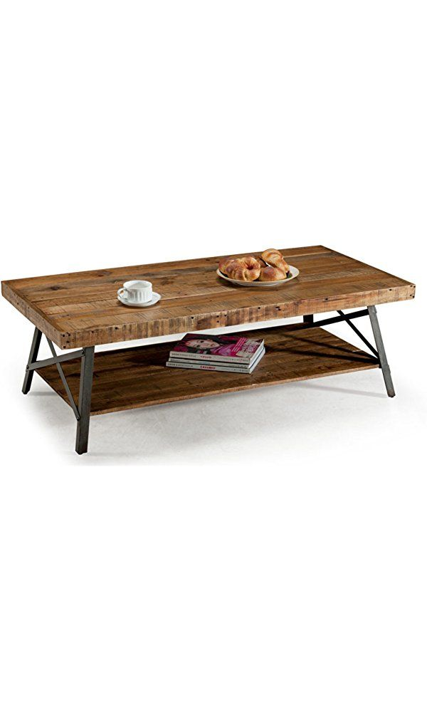 Emerald Home T100 0 Chandler Cocktail Table Wood Hi Honey Welcome Home Steel Coffee Table