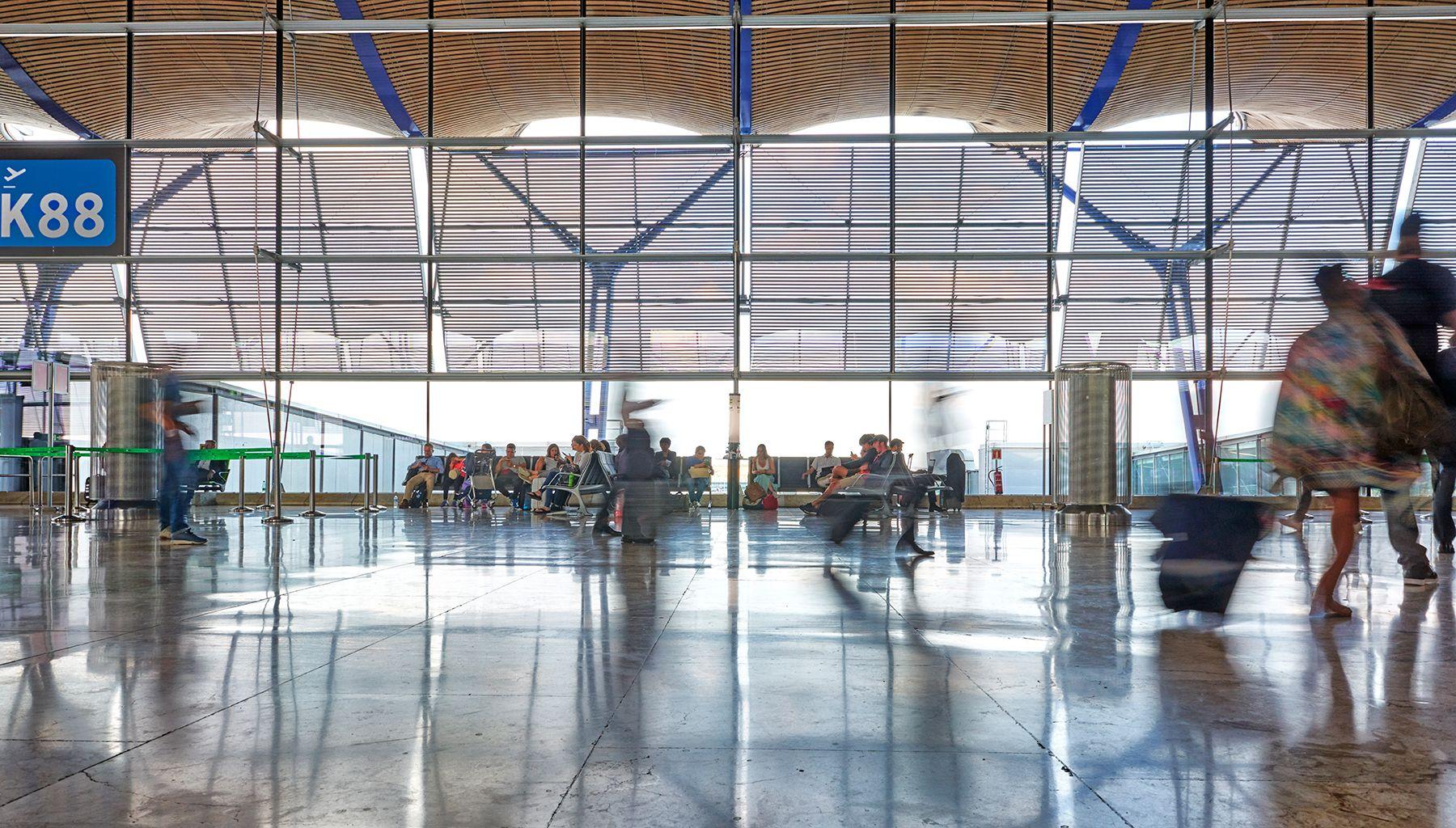 Aeropuertos 22 -Barajas K88-