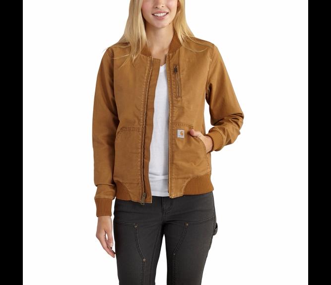 Carhartt Women S Crawford Bomber Jacket 102524 Cm Look Jackets
