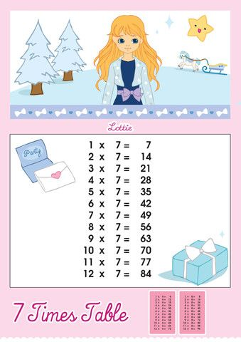 times table printable chart  lottie dolls also for my kids tables learning rh pinterest