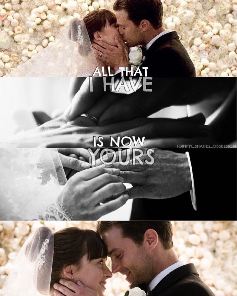 Mr And Mrs Christian Grey Fiftyshadesfreed