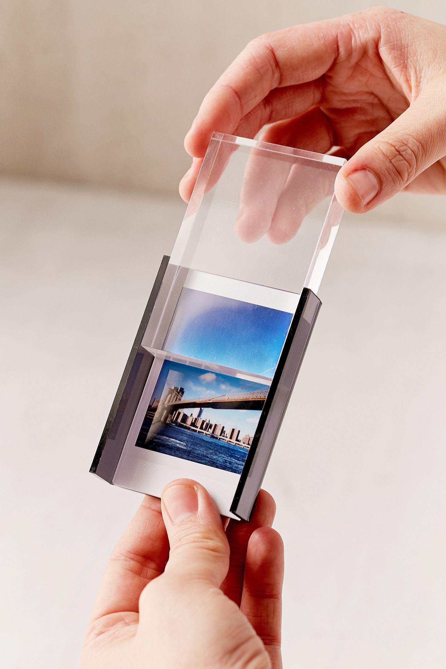 Mini Instax Acrylic Block Frame | Acrylics, Minis and Apartments