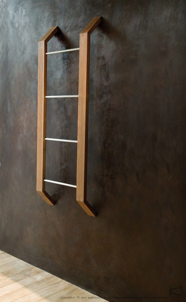 Wooden towel rail TOWEL RACKS | Towel rack - KARPENTER | Bathroom ...