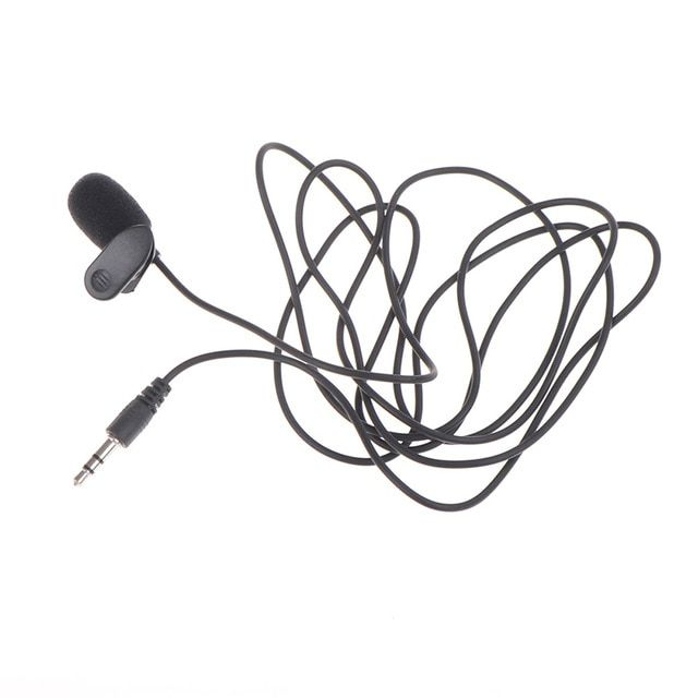 Handsfree 2m Long Wired 3 5 Mm Stereo Jack Mini Car Microphone