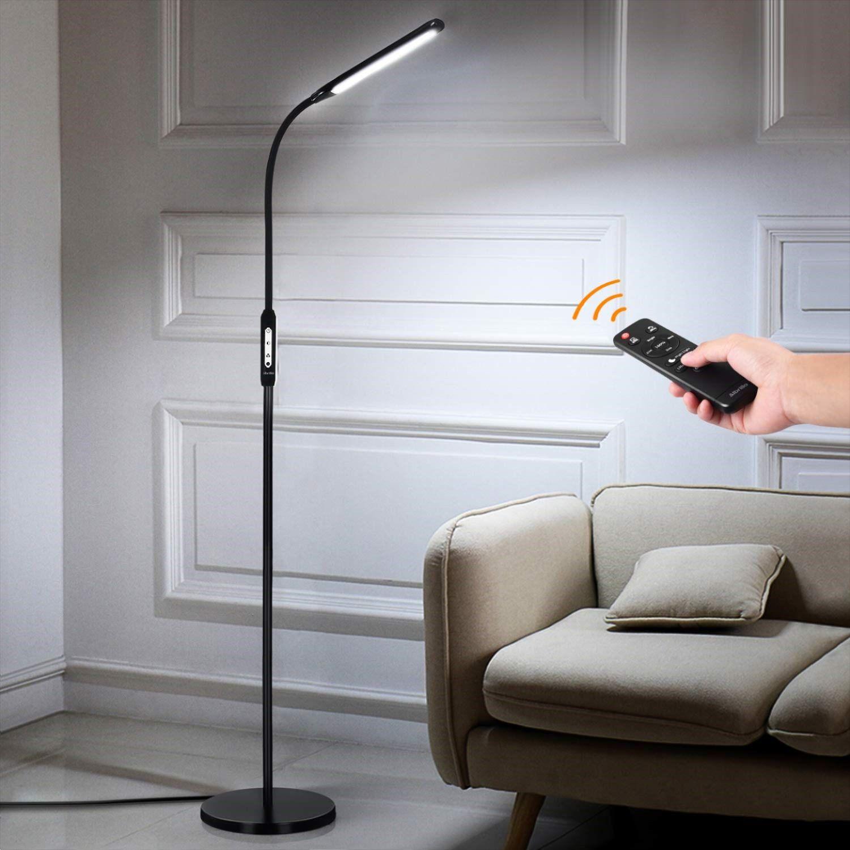 1800lm Standing Light for Living Room Bedroom Office, 2in