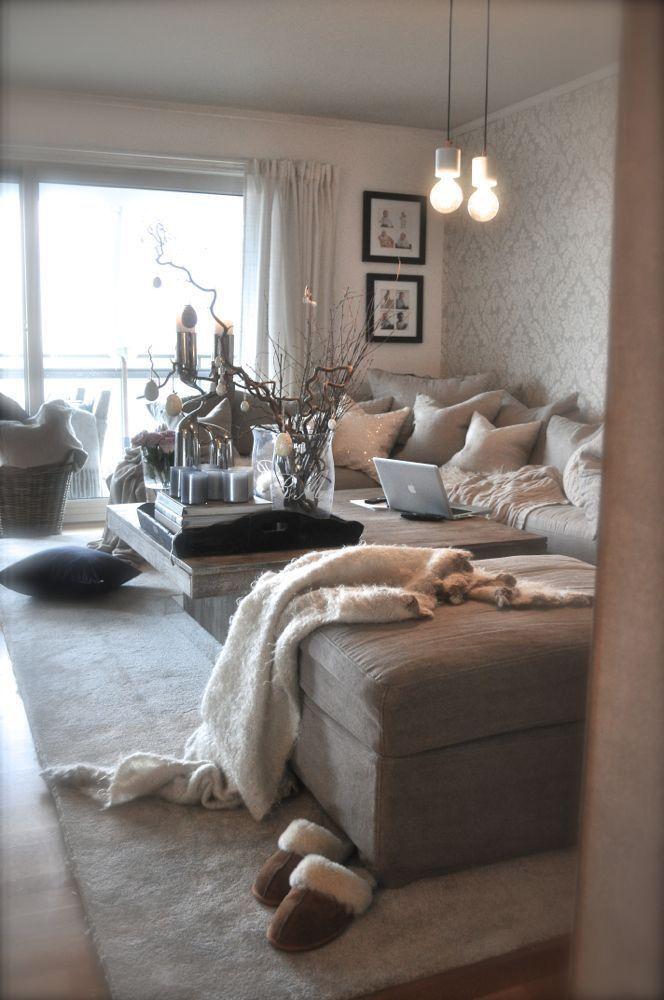 ♡ ; Pinterest : @ XOkikiiii | Living Room | Pinterest | Wohnzimmer, Schöne  Häuser Und Wohnung Gestalten