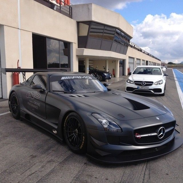 """drivingbenzes: """"Mercedes-Benz SLS AMG GT3 & E 63 AMG """" 