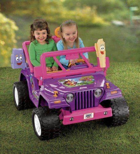 Dora The Explorer Electric Cars For Kids Electric Power Wheels Jeep Wrangler 12v Power Wheels Jeep Kids Power Wheels Power Wheels