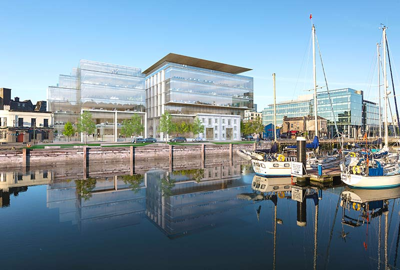Navigation Square's NSQ1 office building in Cork, Ireland