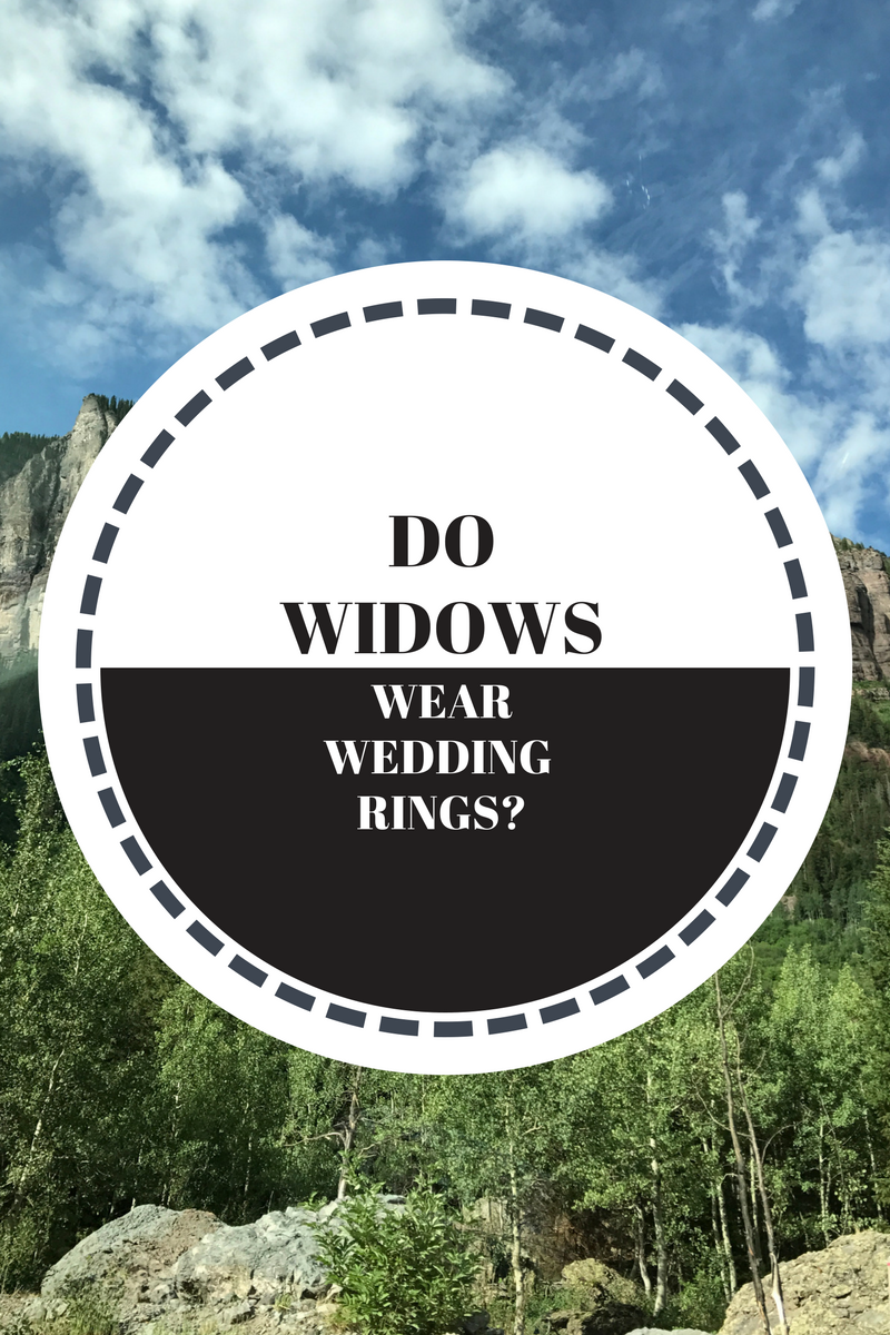 Do Widows Wear Wedding Rings