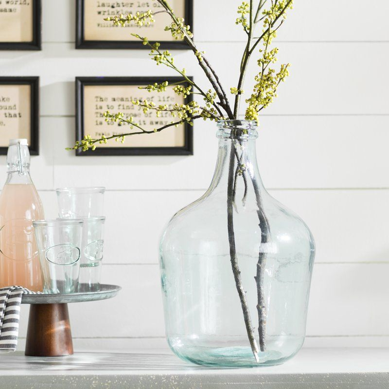 Decoration Ideas With Glass Bottles Modern Farmhouse Style Gift Guide 10 Ideas  Glass Table