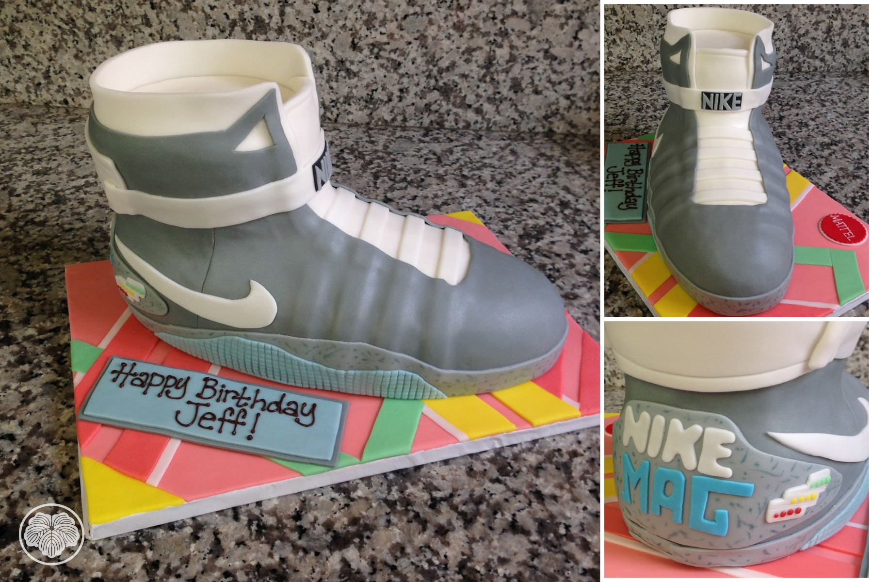 Nike Air Mag Shoe Cake From Back To The Future Ii The Board Is
