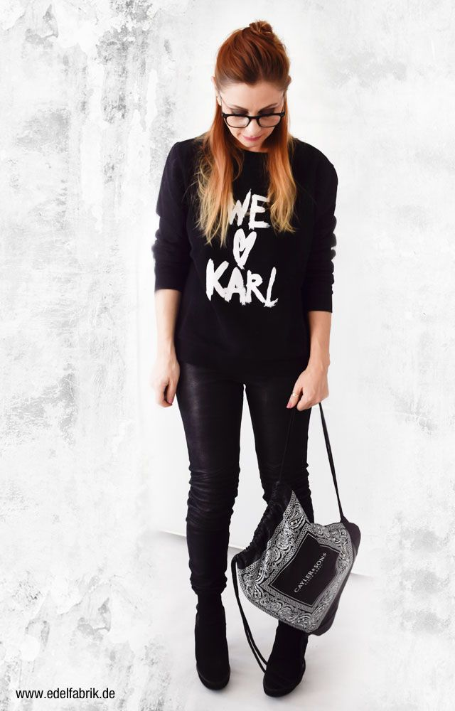 We love Karl! | Outfit, Lässiger look und Komplette outfits