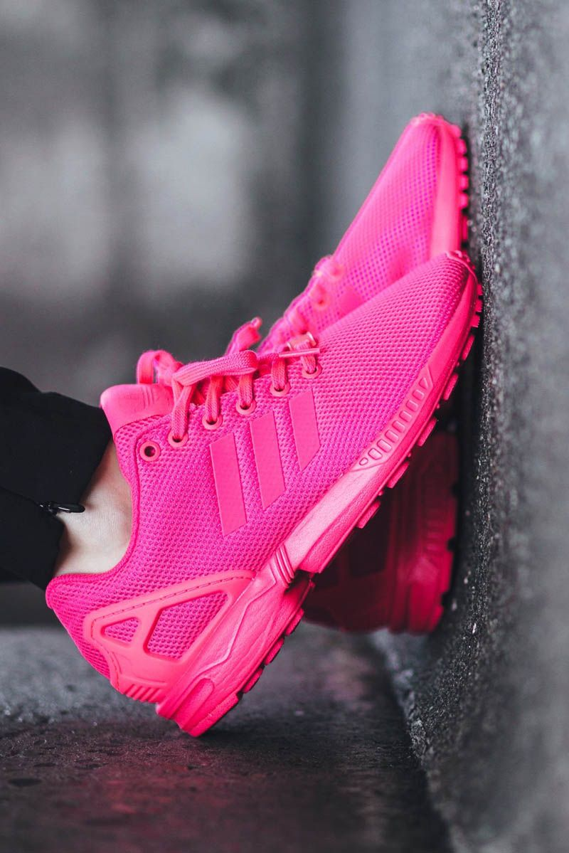 Adidas Zx Flux Neon Pink
