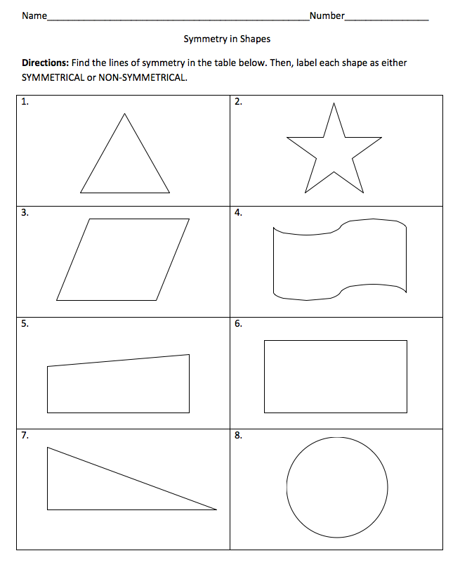 2nd Grade symmetry worksheets for 2nd grade : Picture_2.png | y2 maths | Pinterest | Math