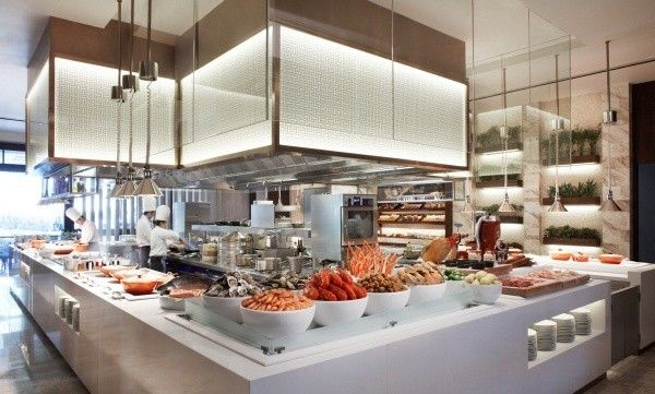 Explore The Restaurants At Marriott Hotel Openrice Sg Editor Hotel Buffet Open Kitchen Restaurant Buffet Restaurant