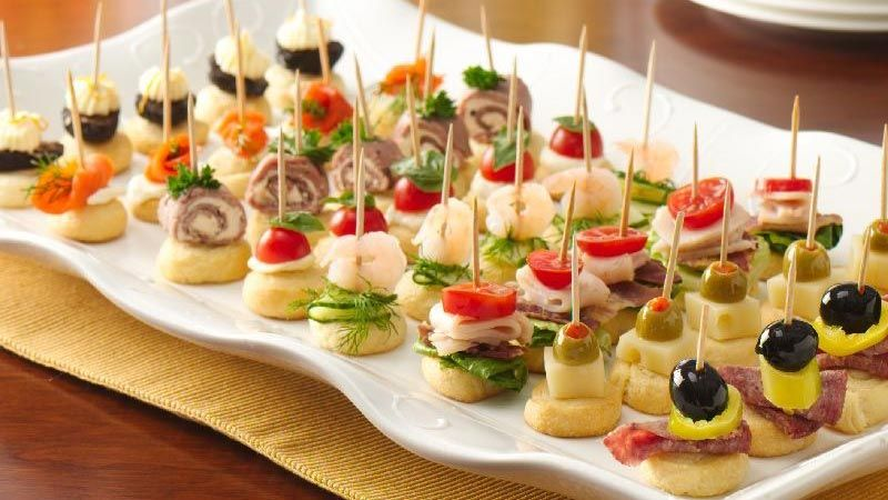 It couldn't be easier to make an impressive array of holiday appetizers.