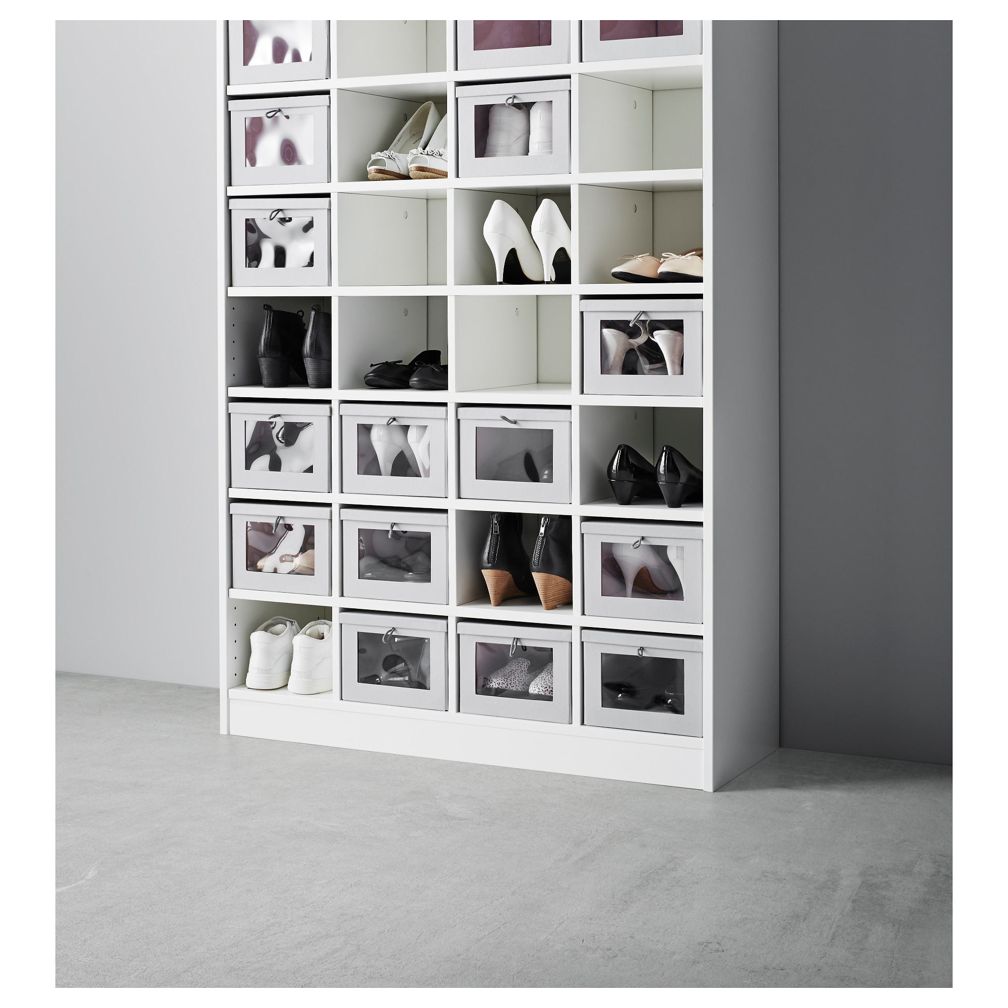 KOMPLEMENT Shelf Insert White IKEA Best Closet Systems, No Closet  Solutions, Shoe Closet,