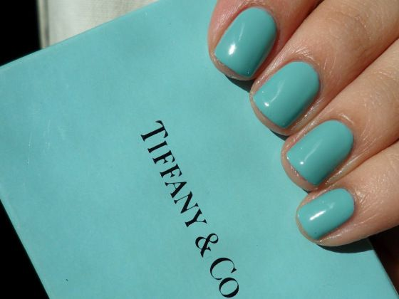 Tiffany Blue Nail Polish For Audrey By China Glaze