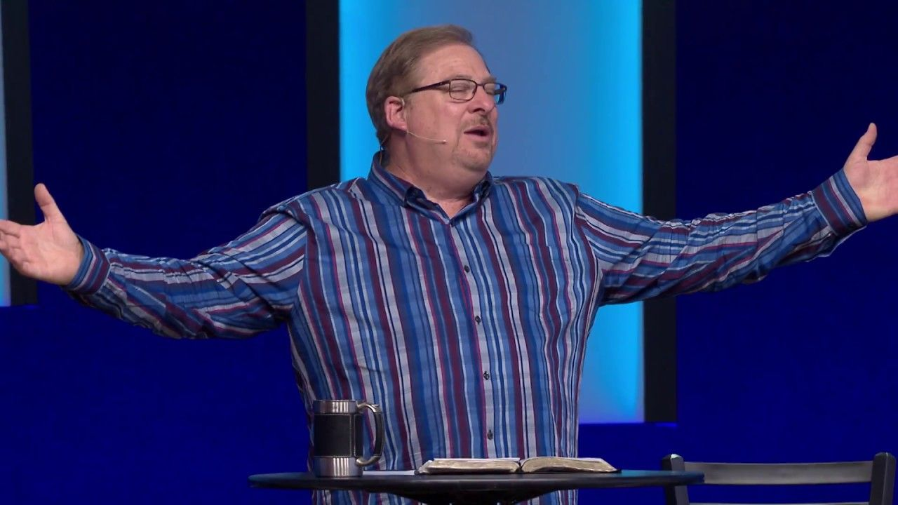How to pray throughout your day with rick warren rick