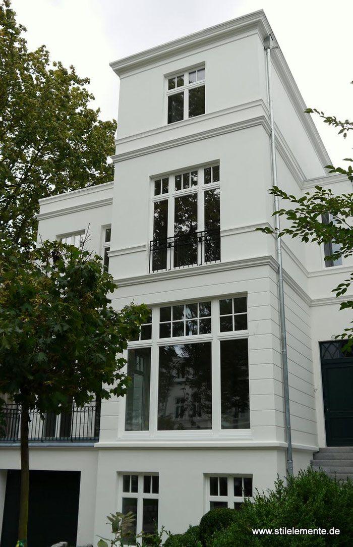 neubau in hamburg im klassizistischen baustil haus house classically designed dreamhouse. Black Bedroom Furniture Sets. Home Design Ideas