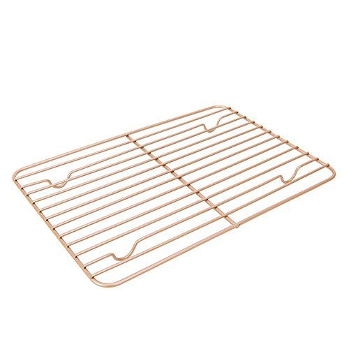 Mylifeunit Carbon Steel Baking Rack Nonstick Cooling Rack For