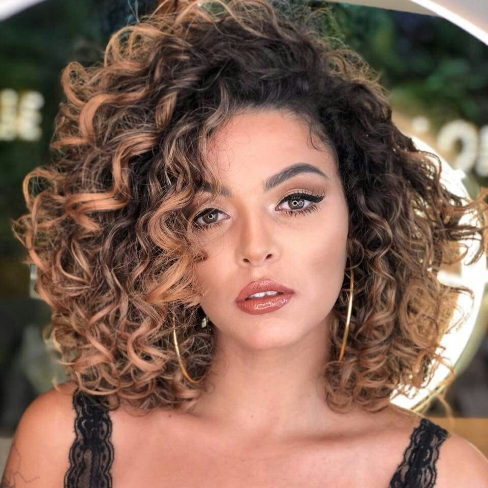 Nathalie Barros Curly Hair Ombre Hair Cabelo Cacheado