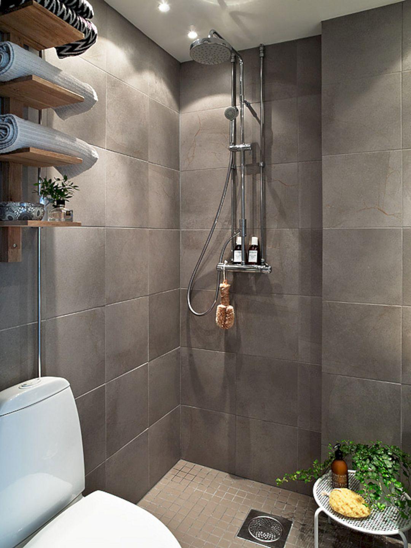 24 Top Doorless Shower Design for Small Bathroom Ideas ...